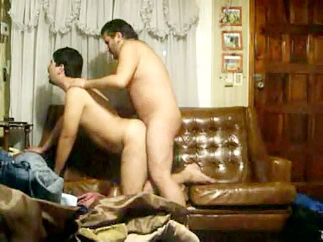 Male gay porn with ass rimming and deep butt thrashing